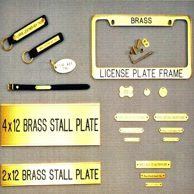 brass-name-plate-collection-horse-plates